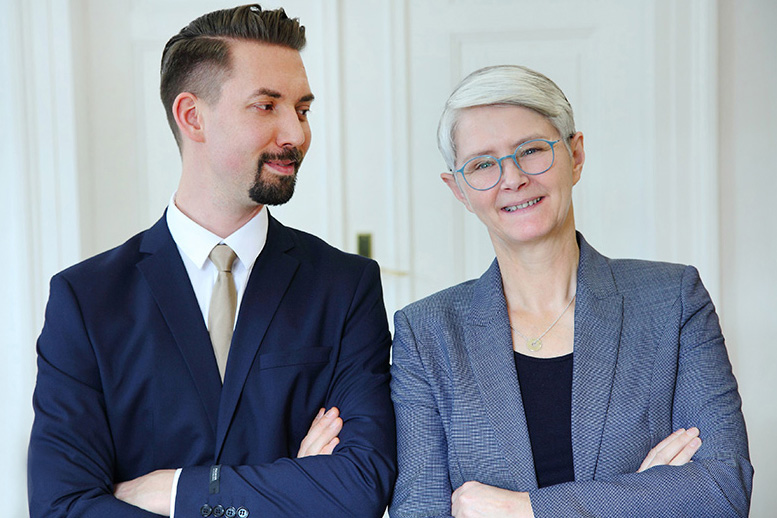 Fachanwälte für Familienrecht und Erbrecht in Regensburg: Amanda Escherich und Stefan Wenzel